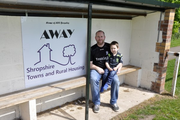 AFC Broseley dug out
